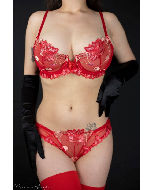 """culotte """"CHERRY ROUGE"""""""