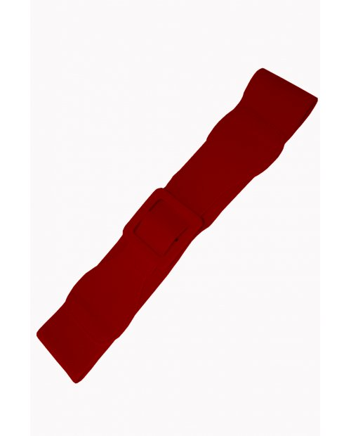 """Ceinture """"Ladies Day Out Square Années 50"""" ROUGE BANNED RETRO."""